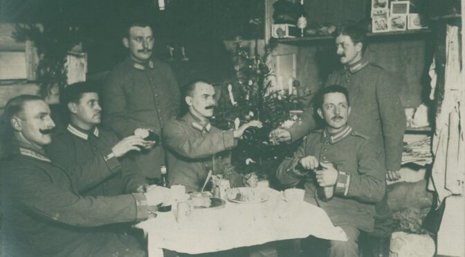 20. december 2020. Julekort fra Første Verdenskrig