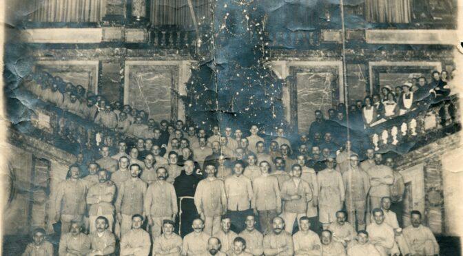 9. december 2020. Julekort fra Første Verdenskrig