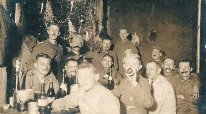 12. december 2020. Julekort fra Første Verdenskrig