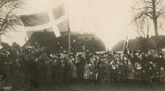 1. november 1920. Den første skoledag i dansk skole