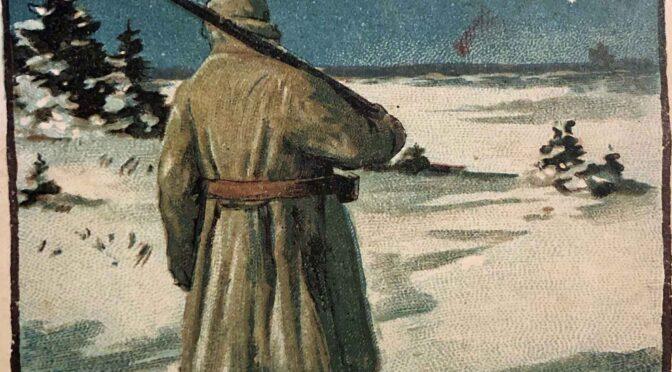 23. december 2020. Julekort fra Første Verdenskrig