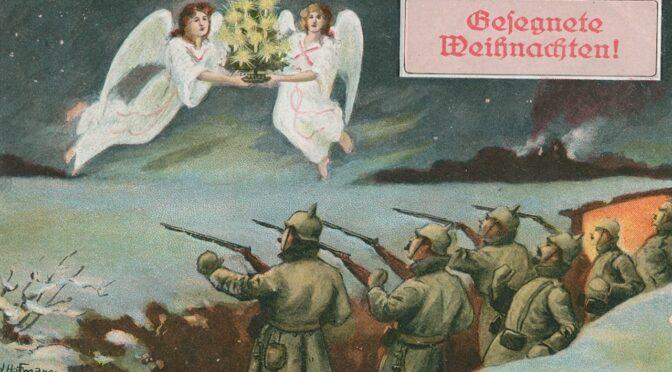 3. december 2020. Julekort fra Første Verdenskrig