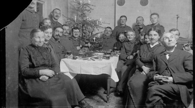 15. december 2020. Julekort fra Første Verdenskrig