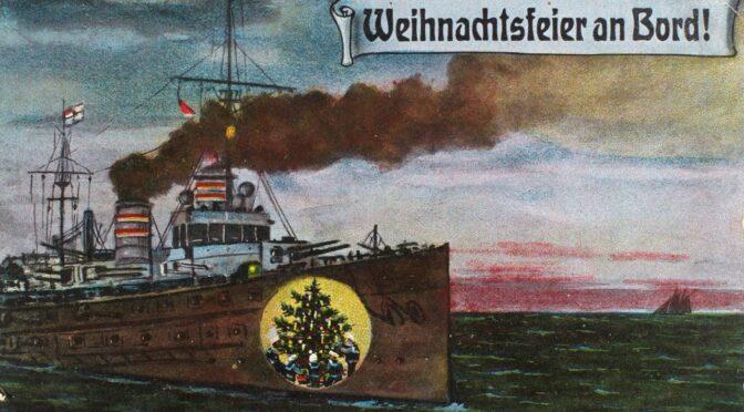 13. december 2020. Julekort fra Første Verdenskrig