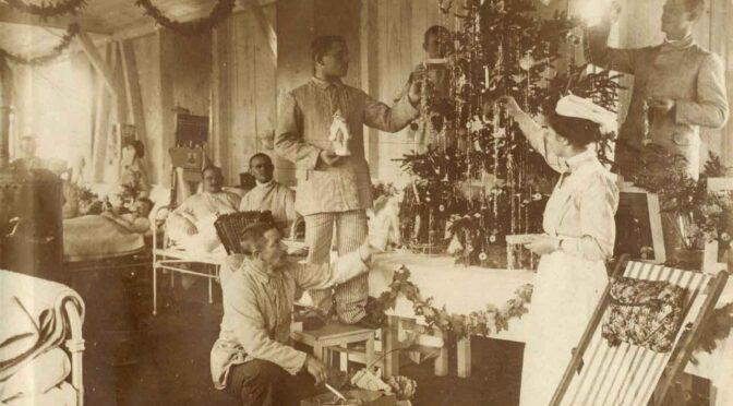 22. december 2020. Julekort fra Første Verdenskrig