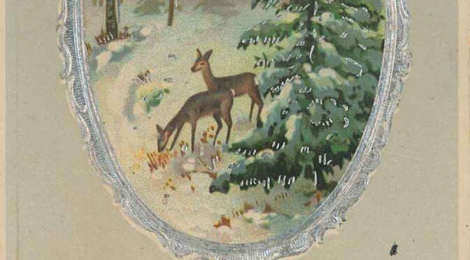 21. december 2020. Julekort fra Første Verdenskrig