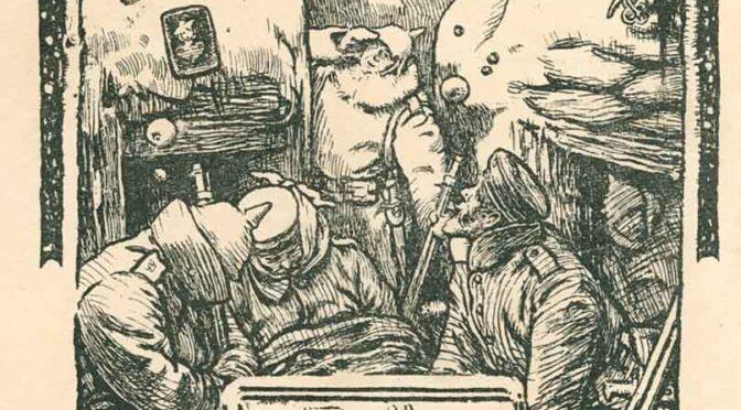 17. december 2020. Julekort fra Første Verdenskrig
